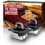 Tigeracing Retractable Truck Bed Side Wall Tie Down 4001 4003 4028 Anchors
